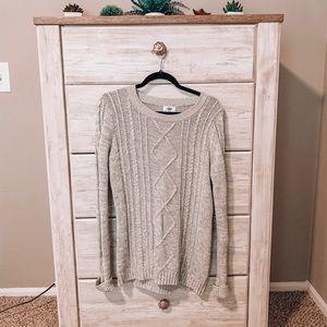 Grey Crewneck Sweater (NWT)